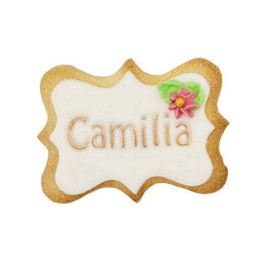 Biscuit personnalisé blanc