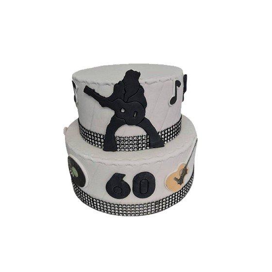 Gâteau pièce montée Elvis Presley