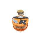 Gâteau d'anniversaire Naruto