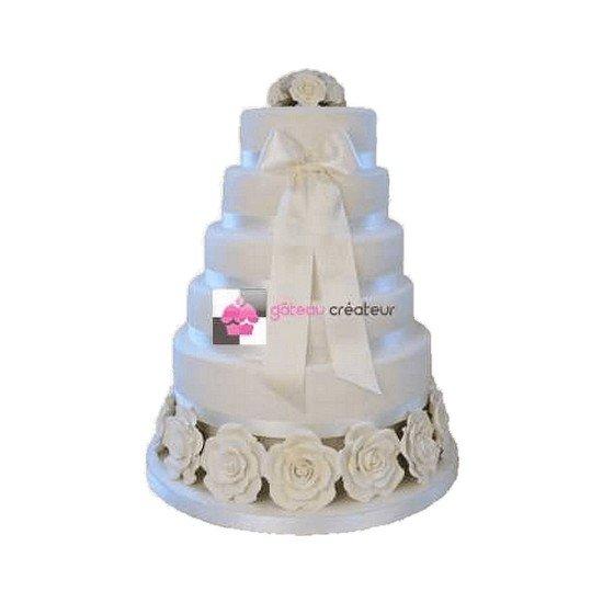Wedding cake Elegant - Piece montee mariage