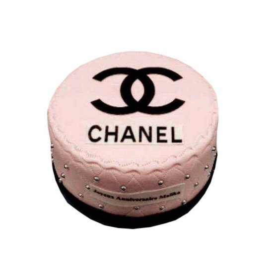 Gâteau d'anniversaire Chanel