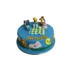 Gâteau d'anniversaire Winnie L'Ourson et ses Amis