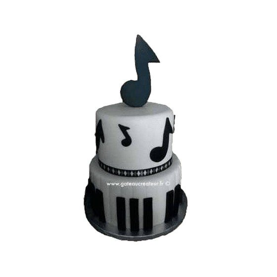 Pièce montée, Gâteau d'anniversaire Musique