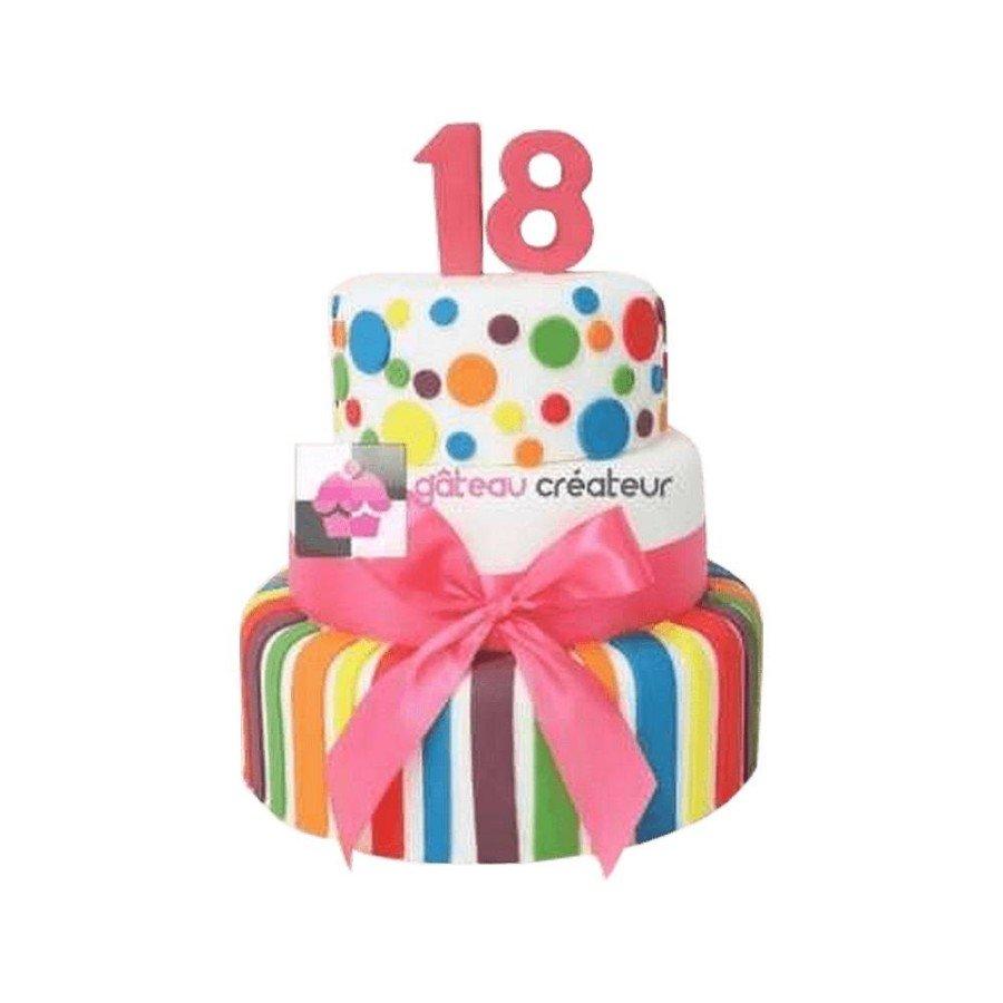 Pièce montée, Gâteau d'anniversaire Birthday