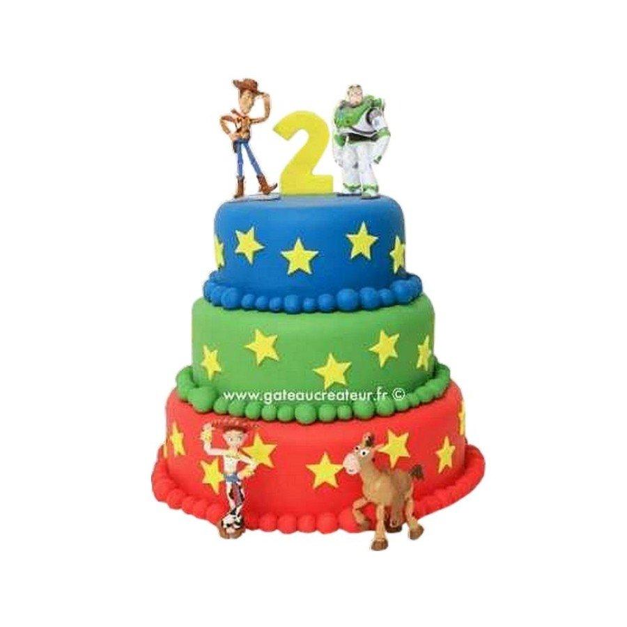 Pièce montée, Gâteau d'anniversaire Toys Story