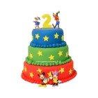 Pièce montée, Gâteau d'anniversaire Mickey et ses Amis