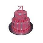 Pièce montée, Gâteau d'anniversaire Lady