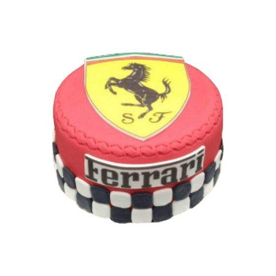Gâteau d'anniversaire Ferrari