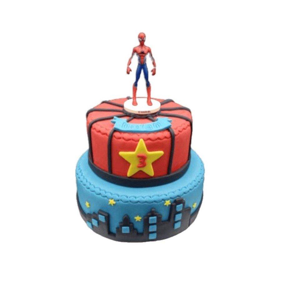 Pièce montée, Gâteau d'anniversaire Spiderman