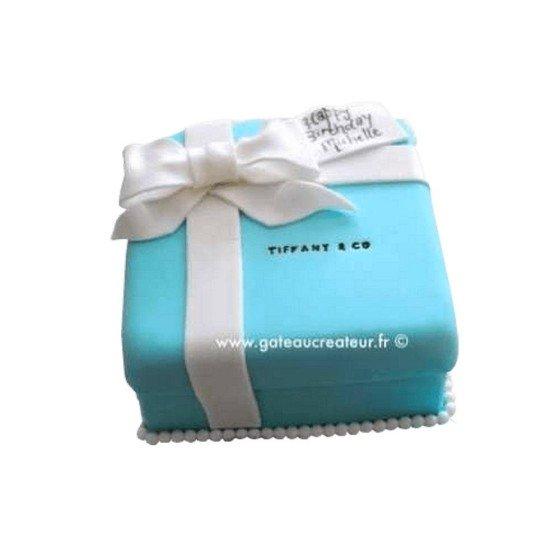 Gâteau d'anniversaire Tiffany & Co