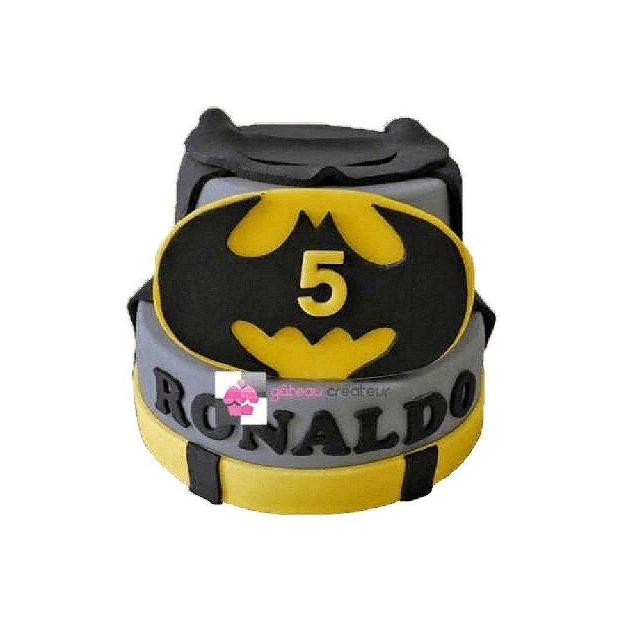 Gâteau d'anniversaire Batman