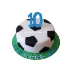 Gâteau d'anniversaire Ballon de Football