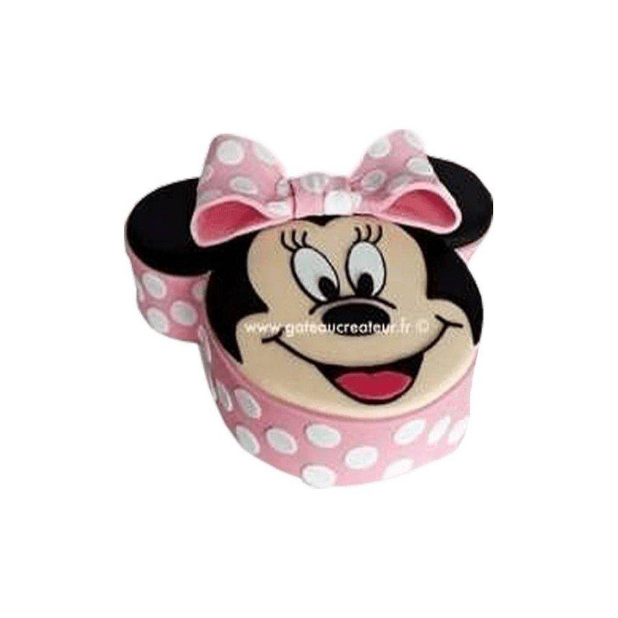 Gâteau d'anniversaire Minnie 2D