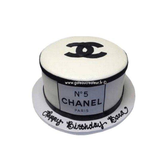 Gâteau d'anniversaire Chanel N°5