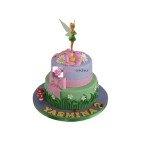 Gâteau d'anniversaire La Fée Clochette