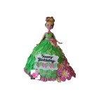 Gâteau d'anniversaire Poupée Fée Clochette
