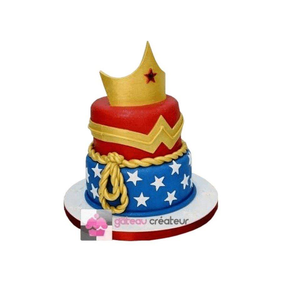 Gâteau Wonder Woman