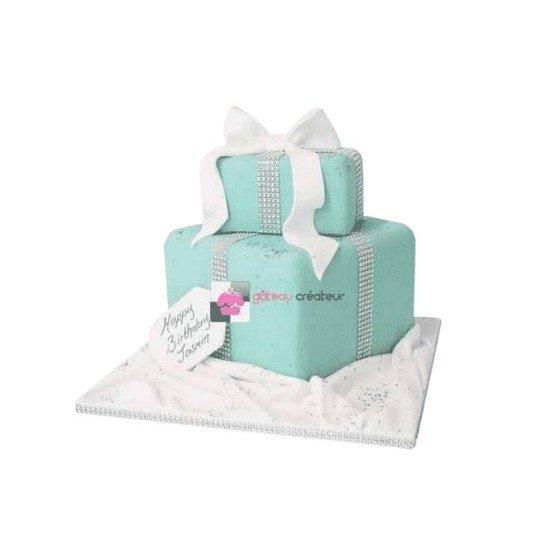 Gâteau d'anniversaire - Pièce montée Cadeaux Tiffany and co