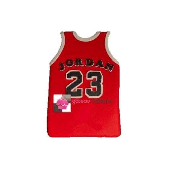 Gâteau d'anniversaire Maillot de basket Jordan Chicago bulls