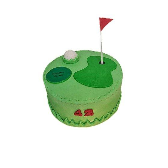 Gateau d'anniversaire Parcours de Golf