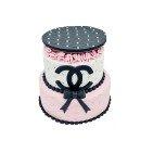 Gâteau d'anniversaire - Pièce montée Chanel
