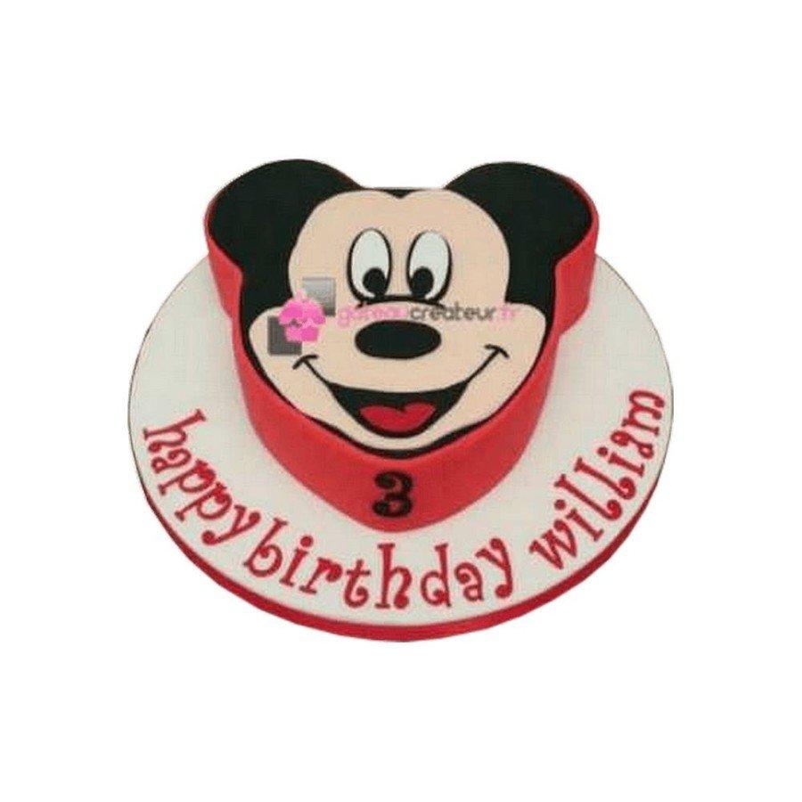 Gâteau d'anniversaire Mickey 2D