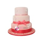 Gâteau d'anniversaire - Pièce montée Pretty Pink