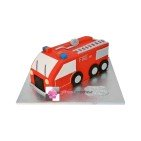 Gâteau d'anniversaire Camion de pompier 3D