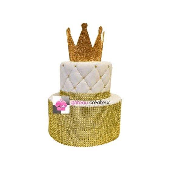 Gâteau d'anniversaire King - Pièce montée