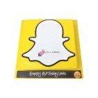 Gâteaux d'anniversaire SnapChat