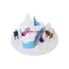 Gâteau d'anniversaire Chiffre, La reine des neiges