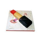 Gâteau d'anniversaire Rouge à lèvres