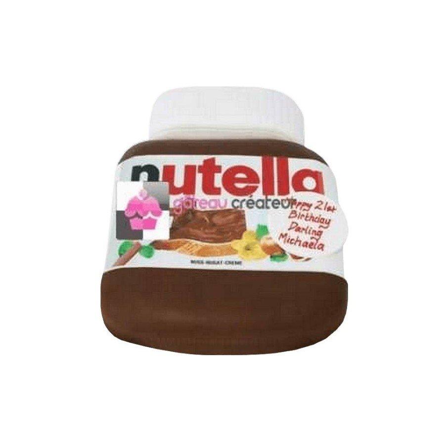Gâteau d'anniversaire Pot de Nutella