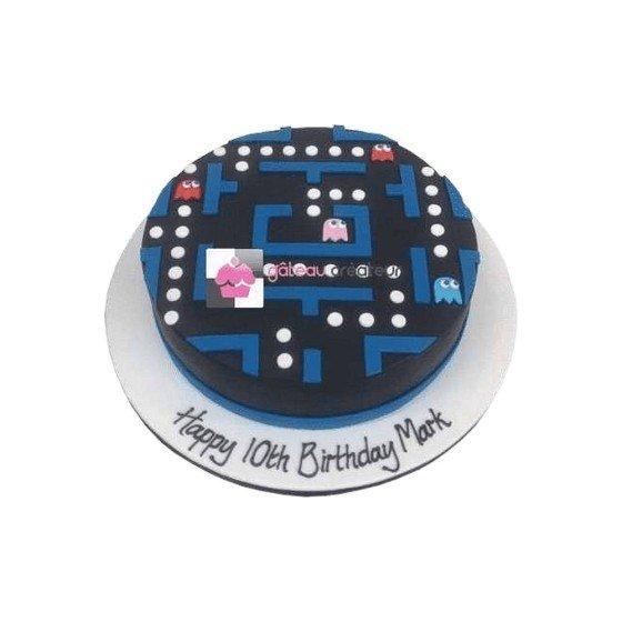 Gâteau d'anniversaire Packman