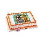 Gâteau Photo personnalisable Scoubidou