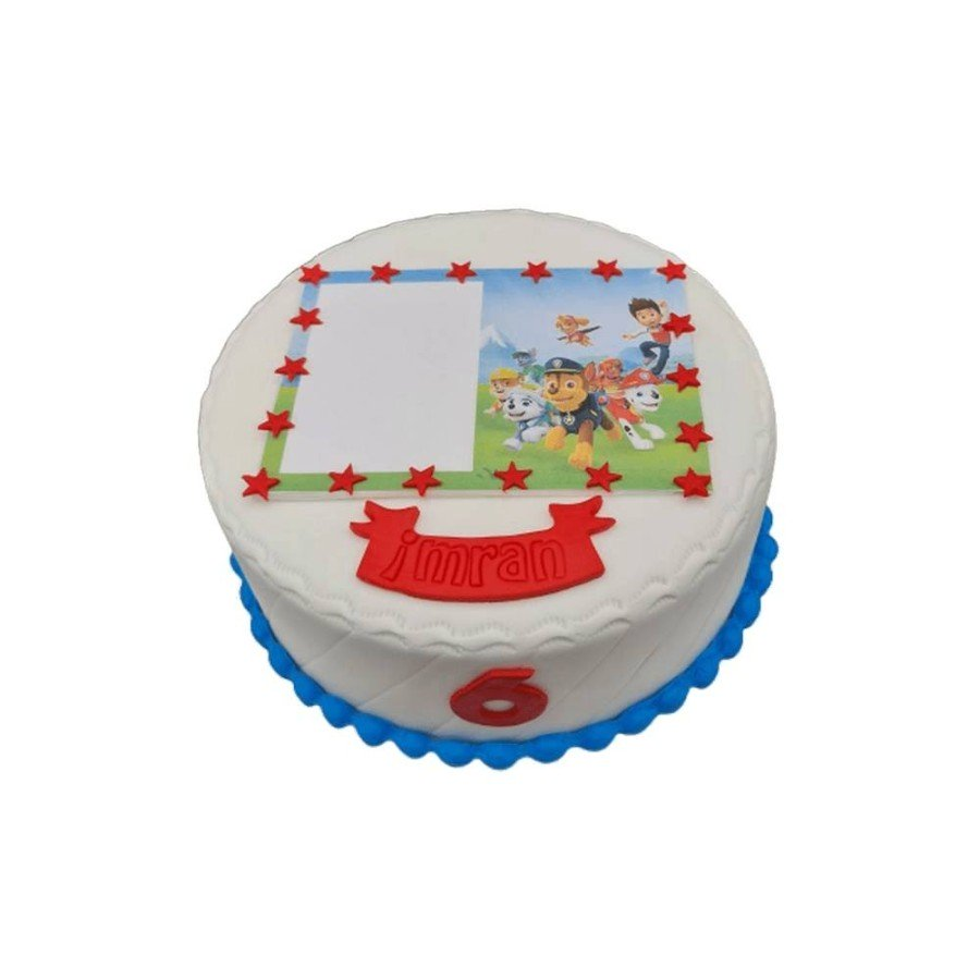 Gâteau Photo personnalisable Paw patrol, Chase