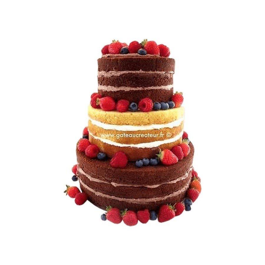 Naked cake - Wedding cake Nu