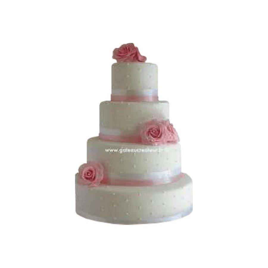 Pièce montée Mariage Pastel - Wedding cake