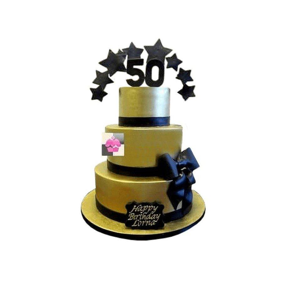 Pièce montée Mariage Gold- Wedding cake