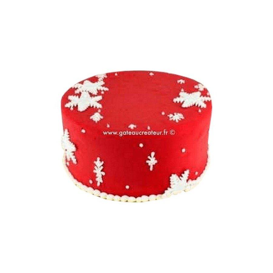 Gâteau de Noël, Flocons de neige