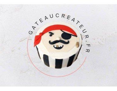 Gâteau bateau pirate et animations pirate pour un anniversaire