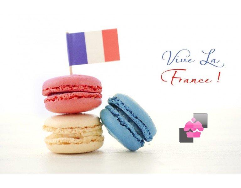 Macarons à la française