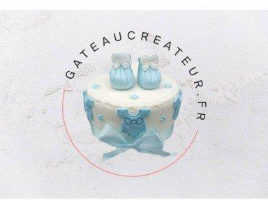 Gâteau baby shower : nos idées pour célébrer la naissance avec un cake design