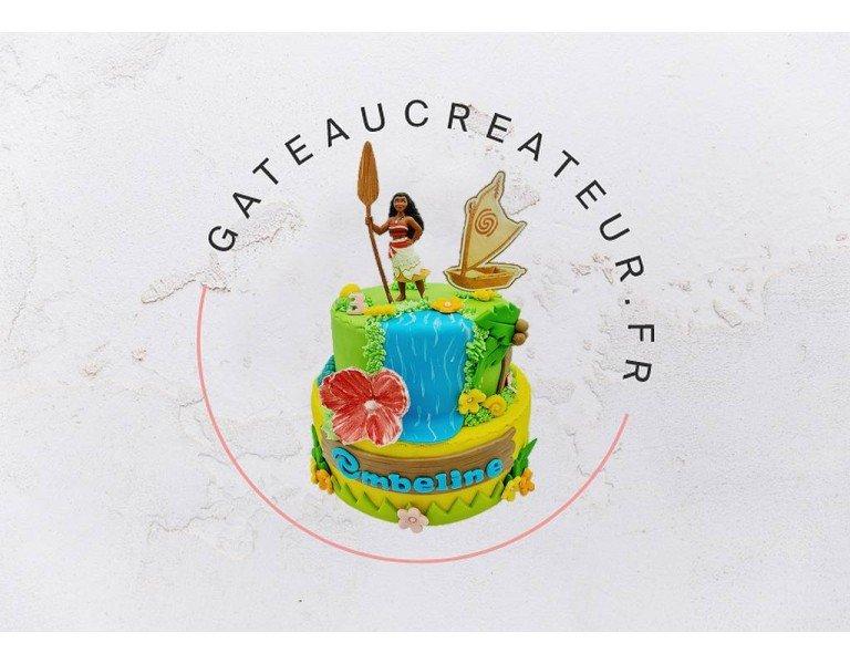 Gâteau Vaiana : un gâteau pour vos petits aventuriers !