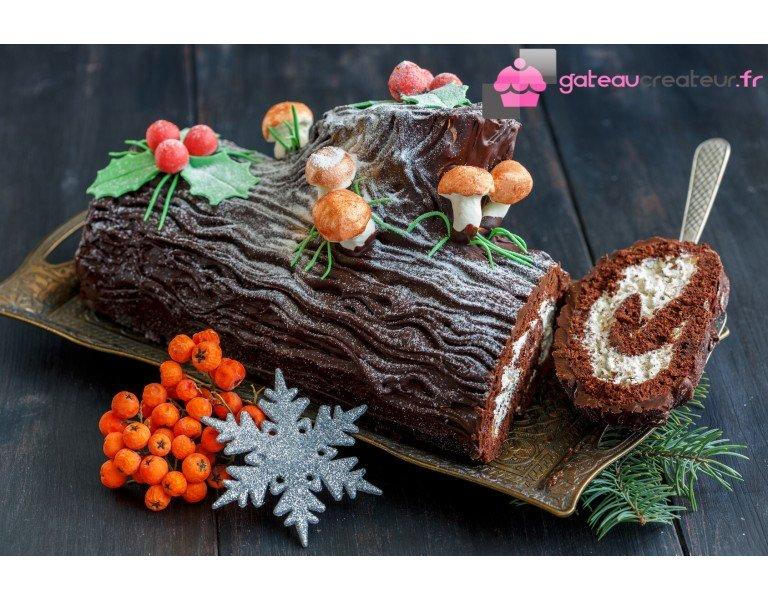 La bûche de Noël, un dessert classique qui a su se moderniser !