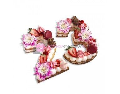 Number cake, Letter Cake - La nouvelle tendance pâtissière