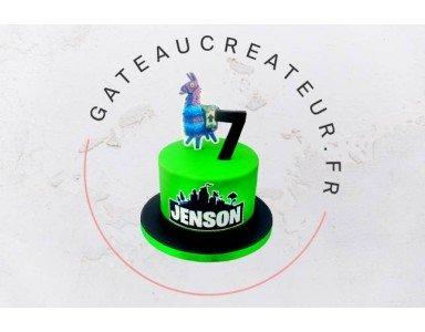 Gâteau d'anniversaire Fortnite, le choix pour surprendre un gamer