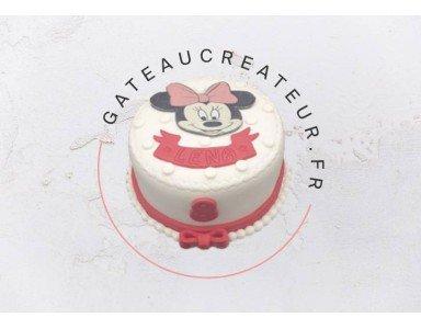 Gâteau Minnie pour votre petite fille